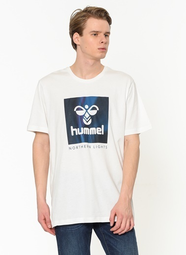 Hummel Erkek Tişört Tad 911035-9003 Beyaz